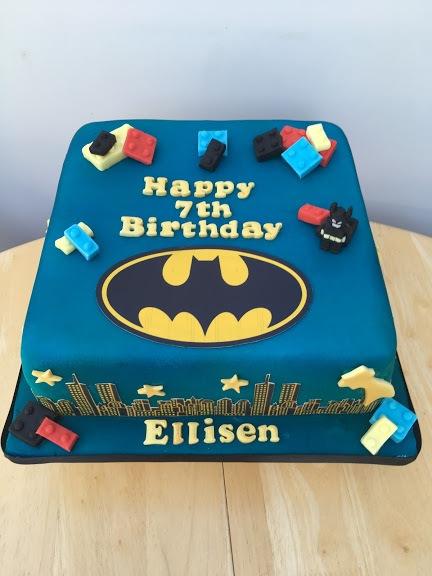 Batman-cake