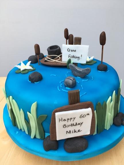 Fishing-cake