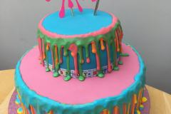 Slime-queen-cake