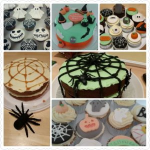 Halloween cakes and cupcakes to order now
